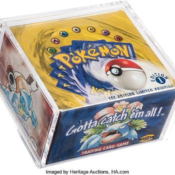 Pokémon TCG Base Set First Edition Box Now On Auction For $110K