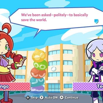 SEGA Officially Announces Puyo Puyo Tetris 2