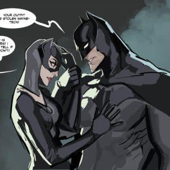 Stjepan Šejić Shows Abadoned Batman Pitch & 2021 Release Plans