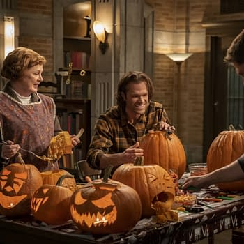 Supernatural Season 15 Preview: The Boys Are Back- Carving Pumpkins