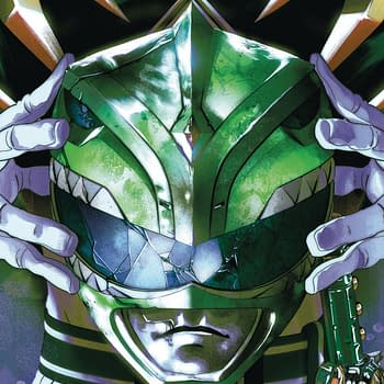 First Appearance of New Green Ranger in Power Rangers to FOC Today