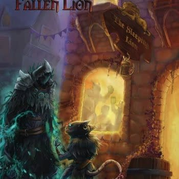 Gloomhaven: Fallen Lion in Source Point Press December 2020 Solicits