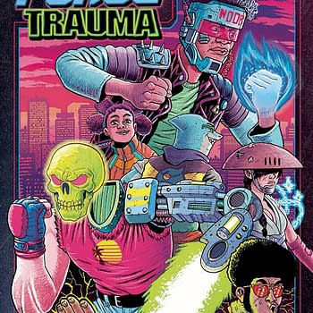 Blood Force Trauma #1 in Albatross Funnybooks December 2020 Solicits