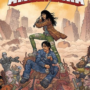 Steve Skroce Launches Pax Americana From Image Comics in December