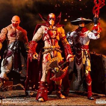 Mortal Kombat McFarlane Toys Figures Get Bloody Variants