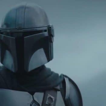 A screencap from The Mandalorian Season 2 trailer.