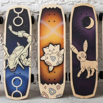 Pokémon & Bear Walker Debut Skateboards With Mew, Rayquaza, & More