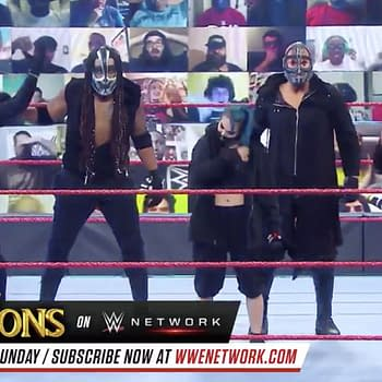 Retribution Unmasks on WWE Monday Night Raw Revealing Identities