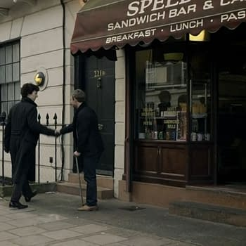 Speedys Cafe As Seen in BBCs Sherlock Is For Sale