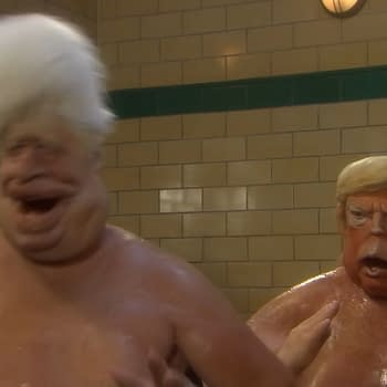 Trump Johnson and Putins Penises Debut In New Spitting Image