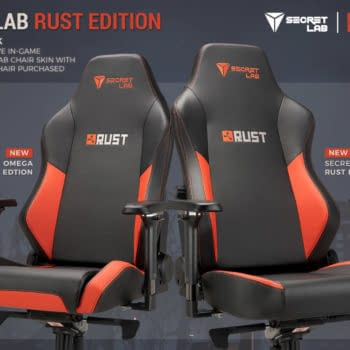 Secretlab and Facepunch Studios announce the official Secretlab Rust Edition chair