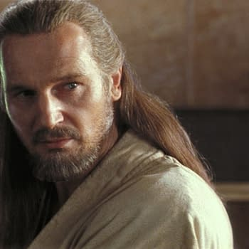Star Wars Actor Liam Neeson Loves Phantom Menace Defends Ahmed Best