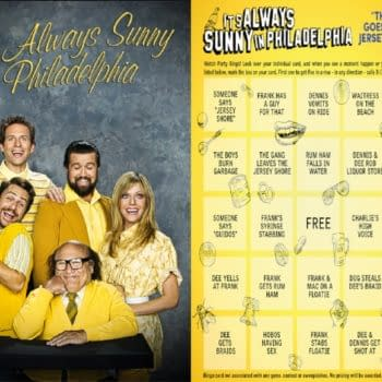 It's Always Sunny in Philadelphia watch party- now with Bingo cards! (Image: FX Networks)