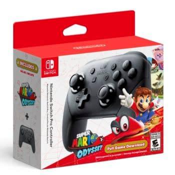 Nintendo Pushes Super Mario Odyssey Pro-Controller Bundle