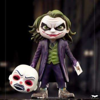 The Dark Knight Joker Gets His Own Minico Design from Iron Studios