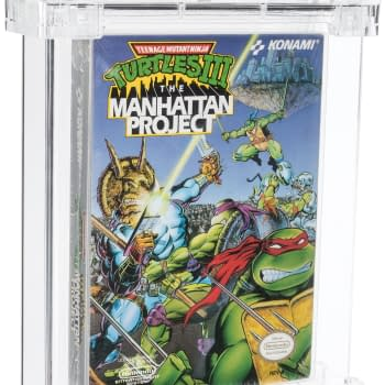 TMNT 3: Manhattan Project NES Game On Auction At Heritage
