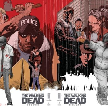 Charlie Adlard's Connecting Covers For The Walking Dead In Colour
