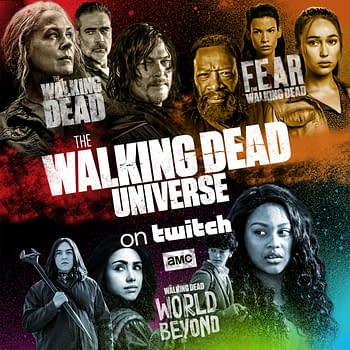 The Walking Dead: AMC Networks Twitch Launch TWDUniverse Channel