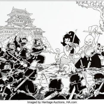 Awesome Usagi Yojimbo Stan Sakai Art On Auction At Heritage