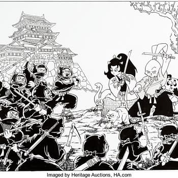 Awesome Usagi Yojimbo Stan Sakai Art On Auction At Heritage