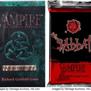 Vampire The Eternal Struggle Booster Packs On Auction At Heritage