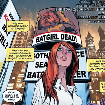 Batgirl #49 Suggests Joker Lives But Someone Else Doesnt (Spoilers)