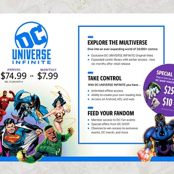 DC Universe To Stream Comics Internationally Including Originals