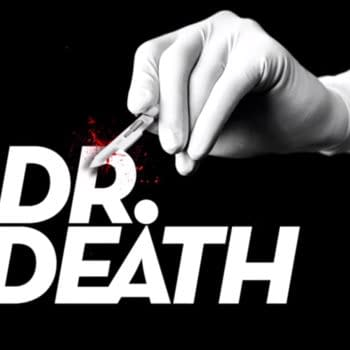 Title screen from a podcast on the true crime story. Source: Wonderyd Series Dr. Death