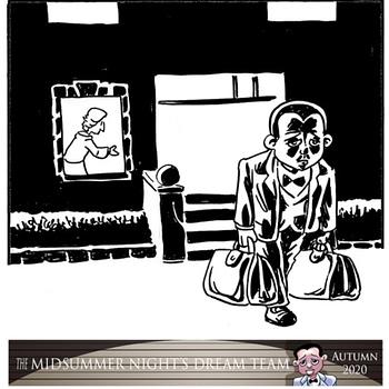 Midsummer Nights Dream Team &#8211 a Shakespeare Crime Noir Graphic Novel