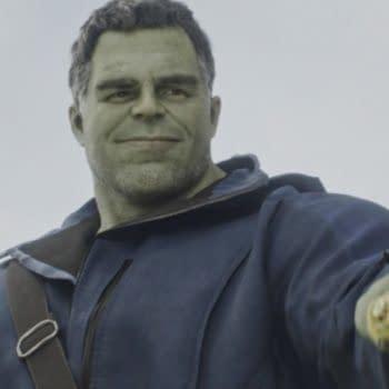 Mark Ruffalo as Hulk in Avengers: Endgame (Image: Disney)