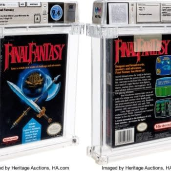 The classic NES game Final Fantasy is up for auction now.