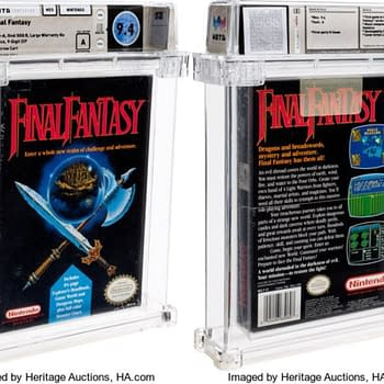 Sealed Classic NES Final Fantasy Up For Auction Now At Heritage