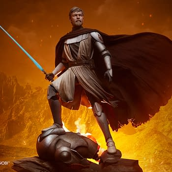 Star Wars General Obi-Wan Kenobi Reports for Duty with Sideshow