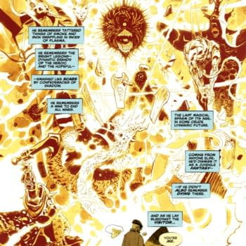 Hellblazer Remembers The Justice League - And Dying
