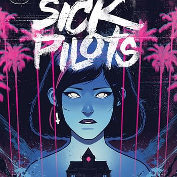 Home Sick Pilots by Dan Watters Caspar Wijngaard From Image Comics