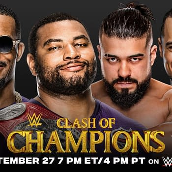 WWE Clash of Champions:  Street Profits Maintain After A Quick 3 Count