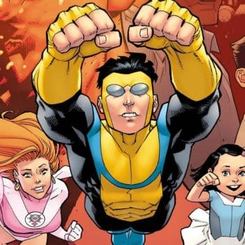 A look at the animated series Invincible (Scanned Images: Skybound Entertainment)