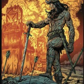 Steve McNiven's Art For King-Size Conan #1