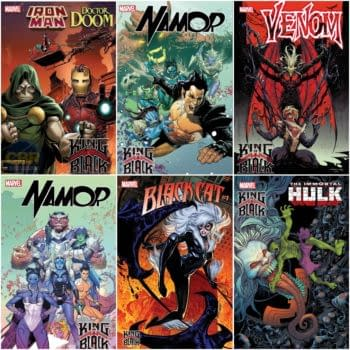Black Cat, Hulk, Doctor Doom/Iron Man, Namor Get King In Black Comics