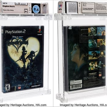 Sealed PS2 Kingdom Hearts Up For Auction Now At Heritage