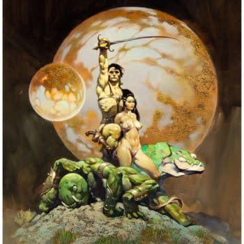 Frank Frazetta's Princess Of Mars – Will It Hit A Million at Auction?
