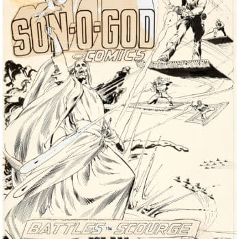 When Neal Adams Had Super-Jesus Fight Muslims in National Lampoon