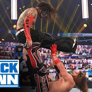 WWE Smackdown &#8211 Jeff Hardy Dehydrated&#8230 Is Sheamus a Pee Vampire