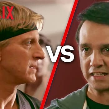 Cobra Kai: William Zabka Ralph Macchio Spar Over Whos the Bad Guy