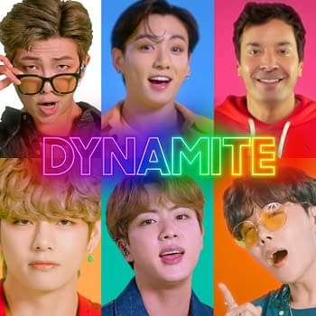 BTS Performs Idol Jams Dynamite with The Roots Jimmy Fallon