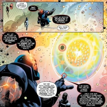 The DC Multiverse As Seen By Maxwell Lord, Darkseid and The Trinity