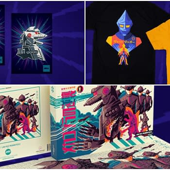 Mondo Releases New Godzilla Shirts Puzzle And Pins