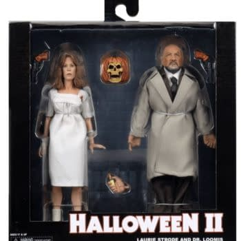 NECA Reveals Final Packaging For Halloween 2 Laurie & Loomis