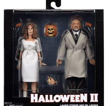 NECA Reveals Final Packaging For Halloween 2 Laurie &#038 Loomis