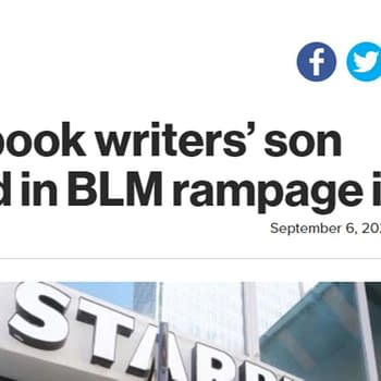 New York Post Reports On Arrest Of Comic Book Writers Son Poorly